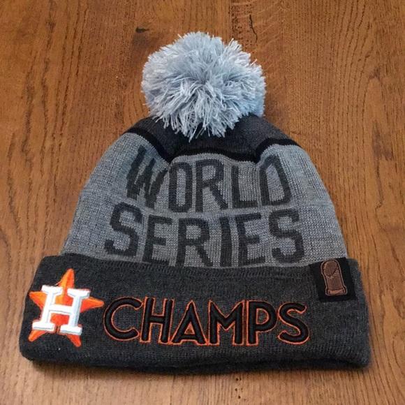 Houston Astros World Series Champs Beanie – Platinumstars b8a3037b708