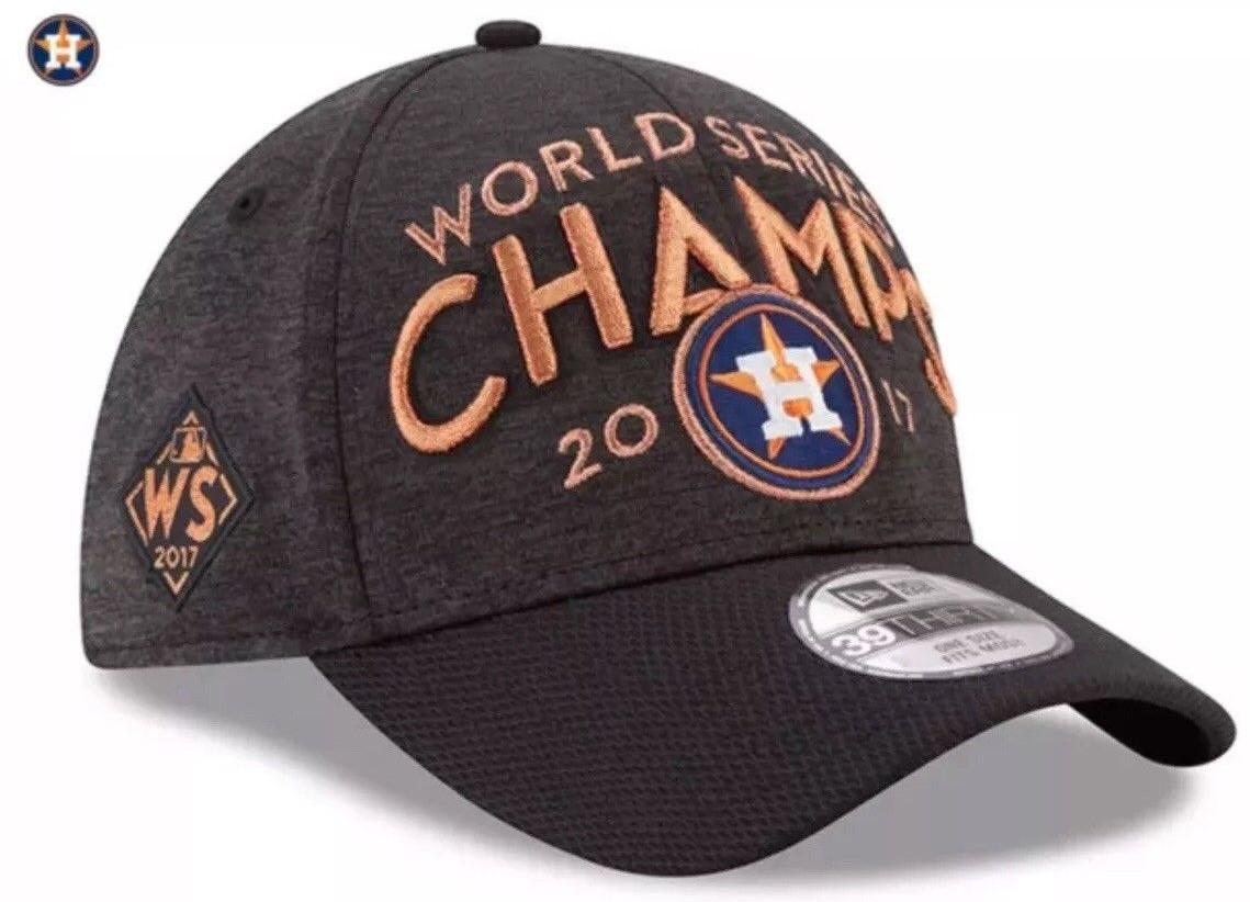 HOUSTON ASTROS WORLD SERIES CHAMPION CAP