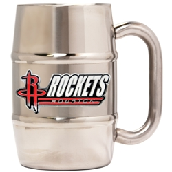 HOUSTON ROCKETS STAINLESS STEEL MUG