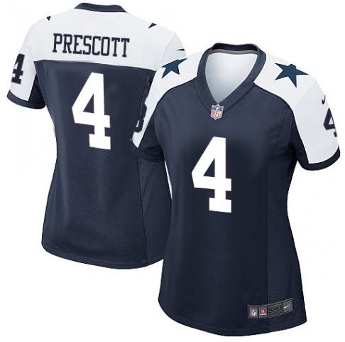 the best attitude cf7cb 881a9 Dak Prescott Dallas Cowboys Nike Jersey - Navy Blue
