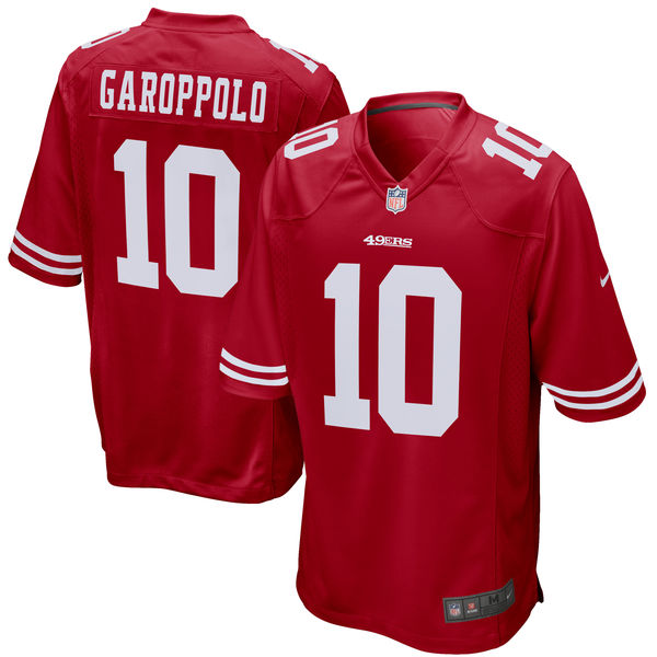 separation shoes b68e3 0cd02 Jimmy Garoppolo San Francisco 49ers Nike Jersey