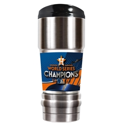 HOUSTON ASTROS WORLD SERIES CHAMPIONS TUMBLER