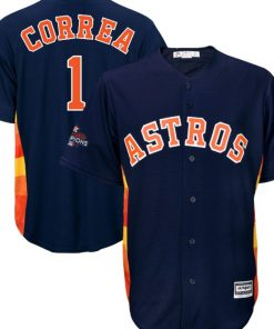 CORREA WORLD SERIES JERSEY