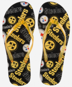 PITTSBURGH STEELERS FLIP FLOPS